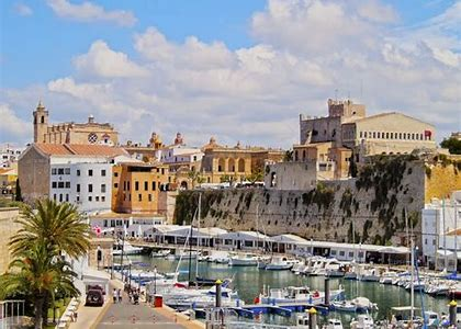 The city of Ciutadella